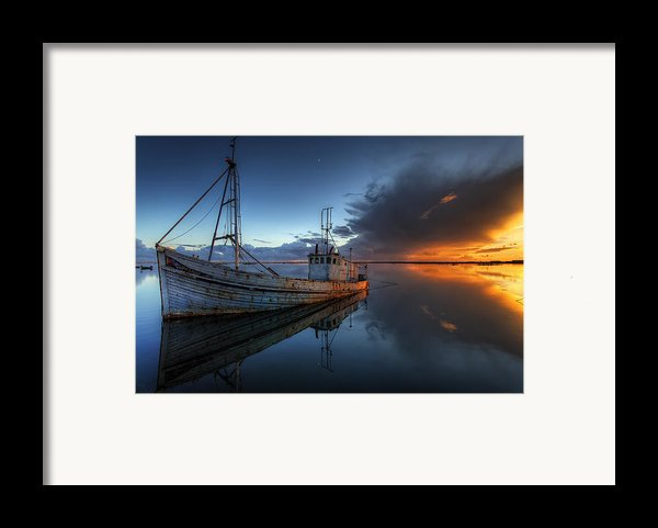 The Guiding Light Framed Print By English Landscapes