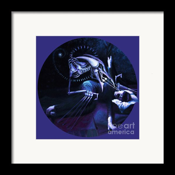 The Hallucinator Framed Print By Shelley  Irish