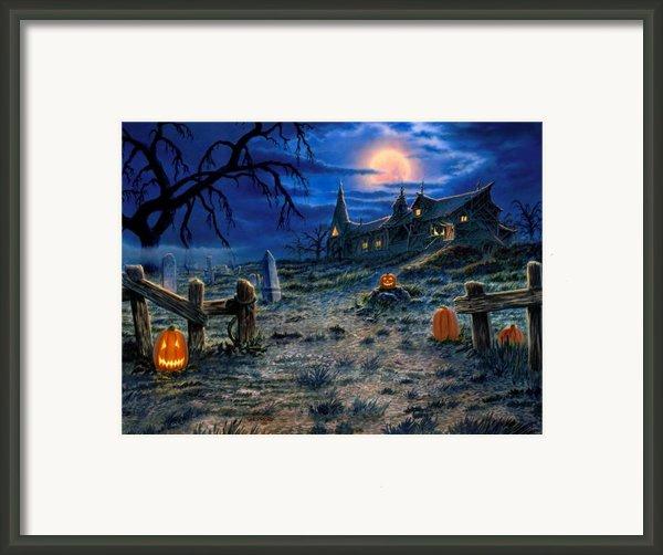 The Haunted House Framed Print By Stu Shepherd