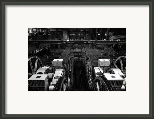 The Heart Of San Francisco Cable-car Framed Print By Ricardmn Photography