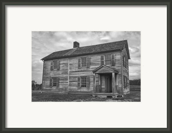The Henry House Framed Print By Guy Whiteley