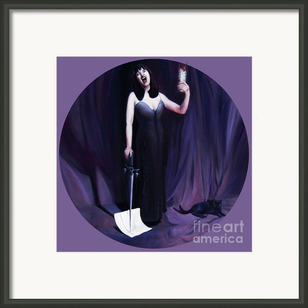 The Heretic Framed Print By Shelley  Irish