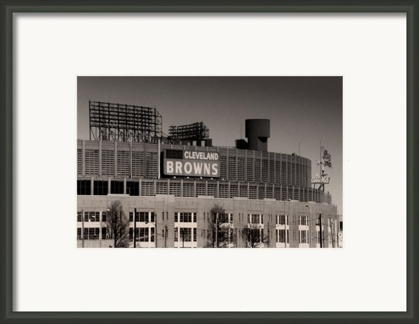 The Hometeams Framed Print By Kenneth Krolikowski