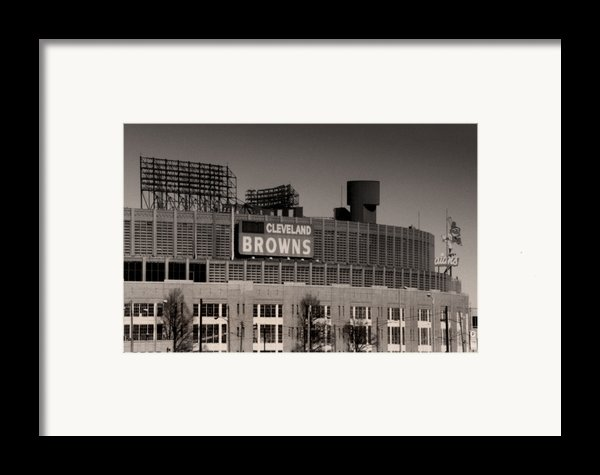 The Hometeams Framed Print By Kenneth Krolikowski