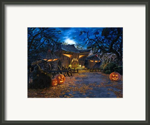 The House At Dead End Framed Print By Stu Shepherd