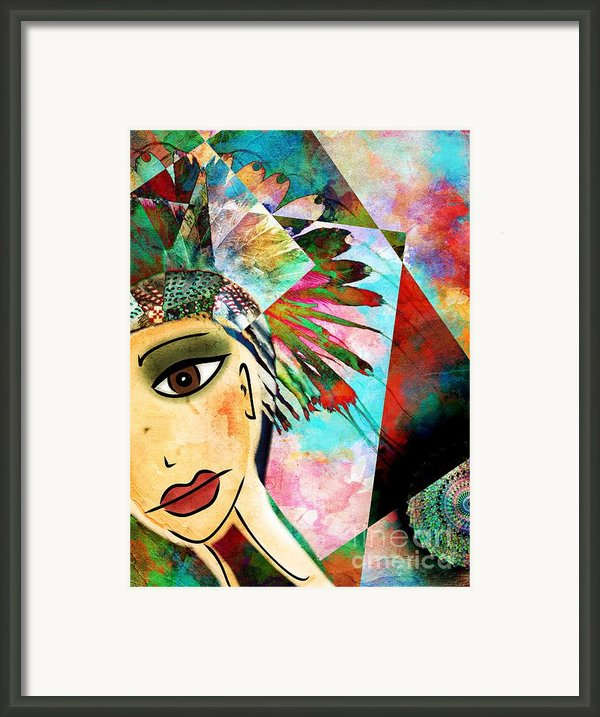 The Huntress Framed Print By Maria Terese Angelica Smith