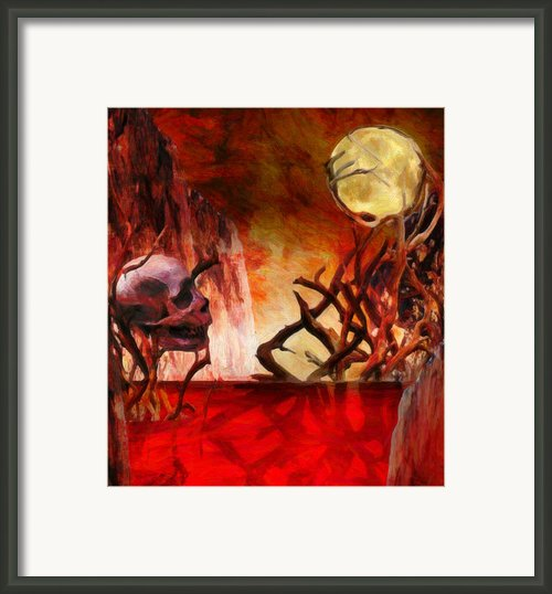 The Illusion Of Desire  Framed Print By Jacob King