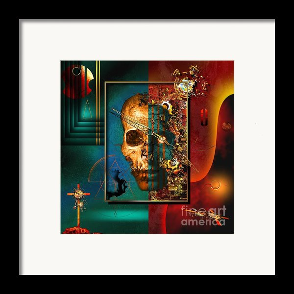 The Inconceivability Of The Being Framed Print By Franziskus Pfleghart
