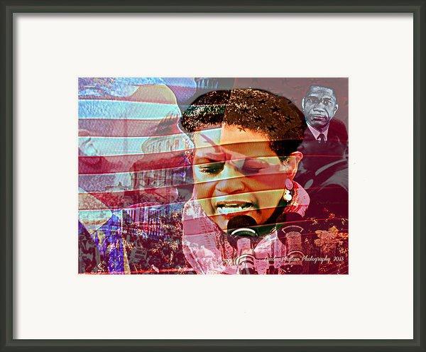 The Invocation Framed Print By Lynda Payton
