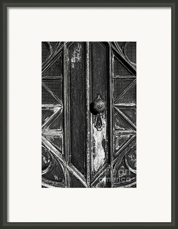 The Key Hole Framed Print By Darren Fisher