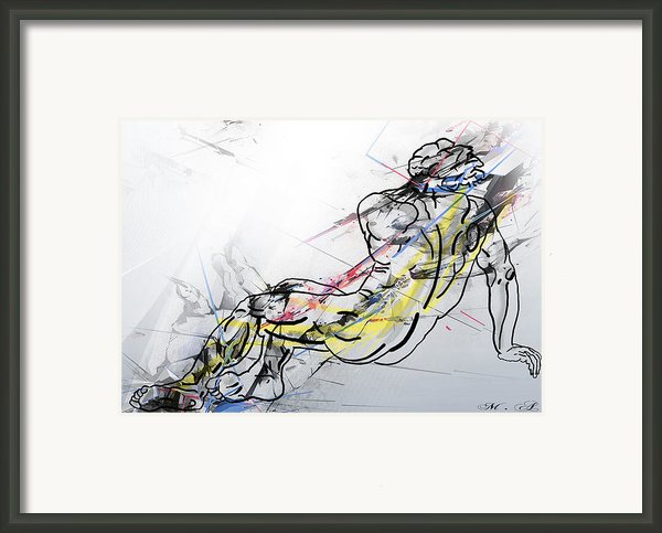 The King David  Framed Print By Mark Ashkenazi