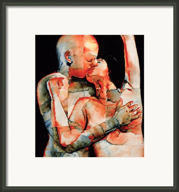 The Kiss Framed Print By Graham Dean