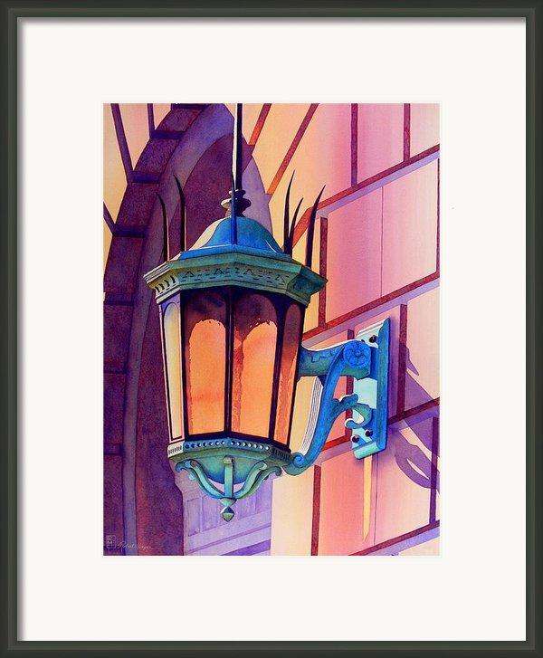 The Lamp On Goodwin Framed Print By Robert Hooper