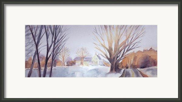 The Landscape Listens Framed Print By Grace Keown