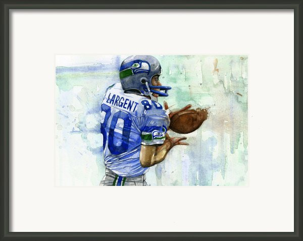 The Largent Framed Print By Michael  Pattison