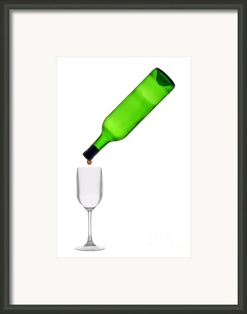The Last Drop Framed Print By Olivier Le Queinec