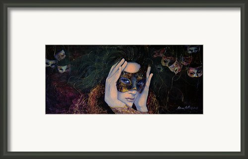 The Last Secret Framed Print By Dorina  Costras