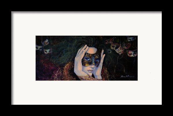 The Last Secret Framed Print By Dorina  Costras