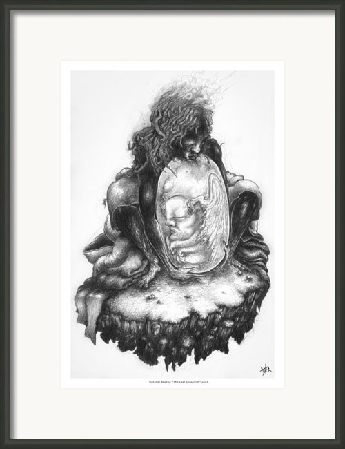 The Last Seraphim Framed Print By Natanel Araeha