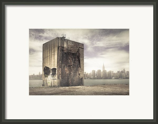 The Last Stand - Apocalypse New York City Framed Print By Gary Heller