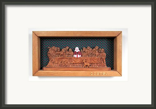 The Last Supper Framed Print By Bill Czappa
