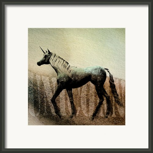 The Last Unicorn Framed Print By Bob Orsillo