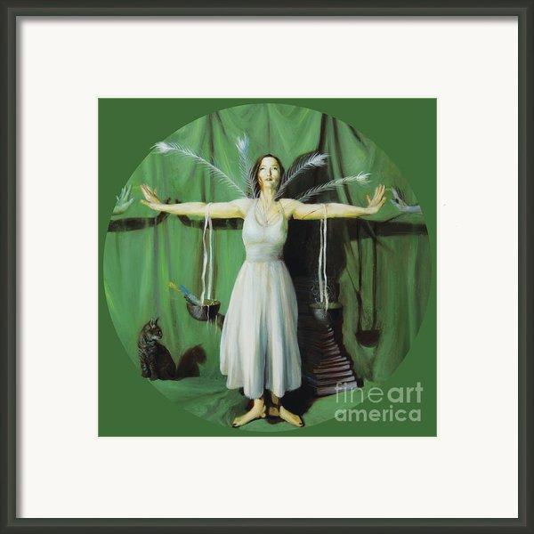 The Leaver Framed Print By Shelley  Irish