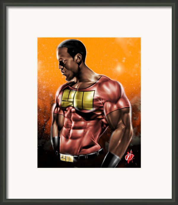 The Legend Of Will Power Framed Print By Pete Tapang