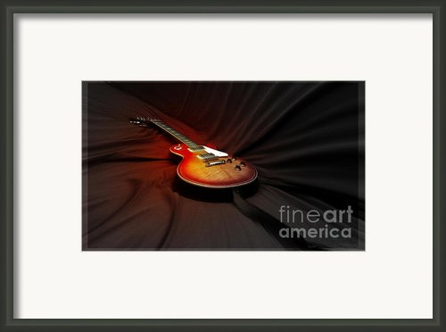 The Les Paul Framed Print By Steven  Digman