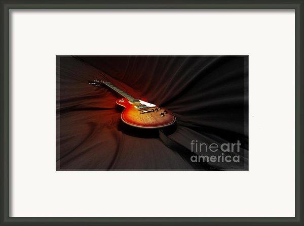 The Les Paul Framed Print By Steven  Digman