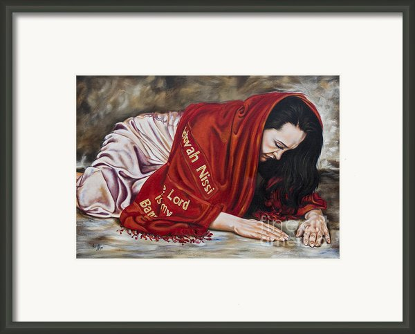 The Lord Is My Banner Yahweh Nissi Framed Print By Ilse Kleyn