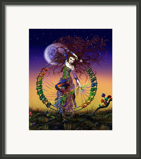 The Lover Framed Print By Kd Neeley