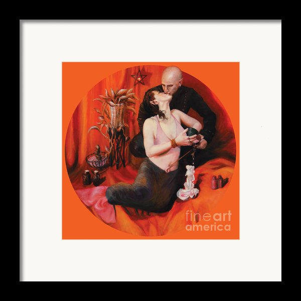 The Lovers Framed Print By Shelley  Irish