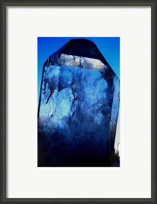 The Magic Crystal Framed Print By Colette V Hera  Guggenheim