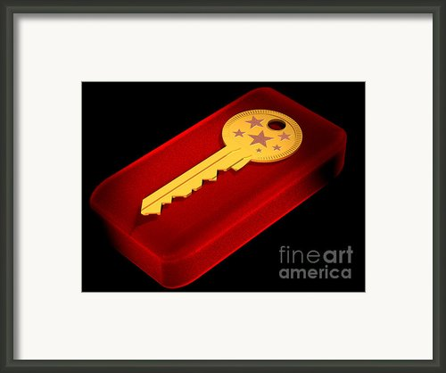 The Magic Key Framed Print By Andreas Thust
