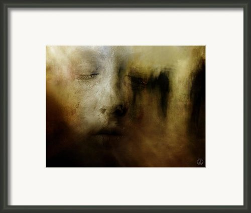 The Man Who Dreamt He Was A Sculpture Framed Print By Gun Legler