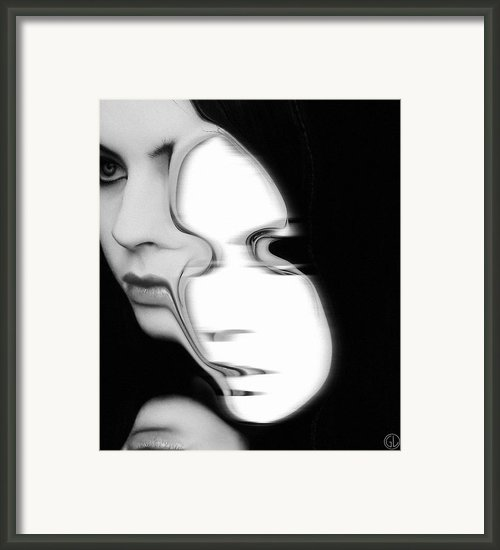 The Mask Framed Print By Gun Legler