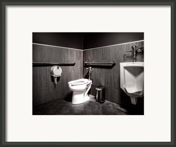 The Mens Room Framed Print By Bob Orsillo