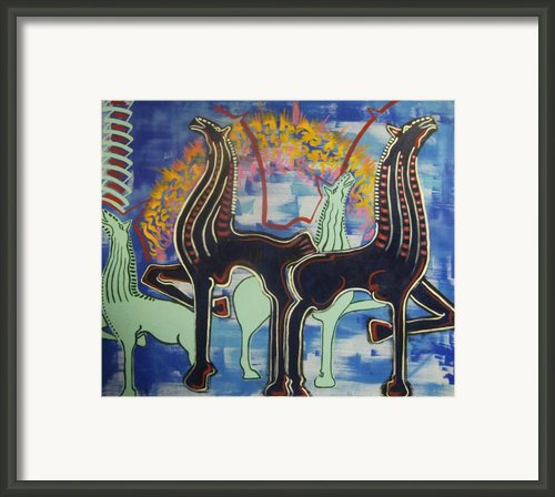 The Migration Framed Print By Michael Kulick