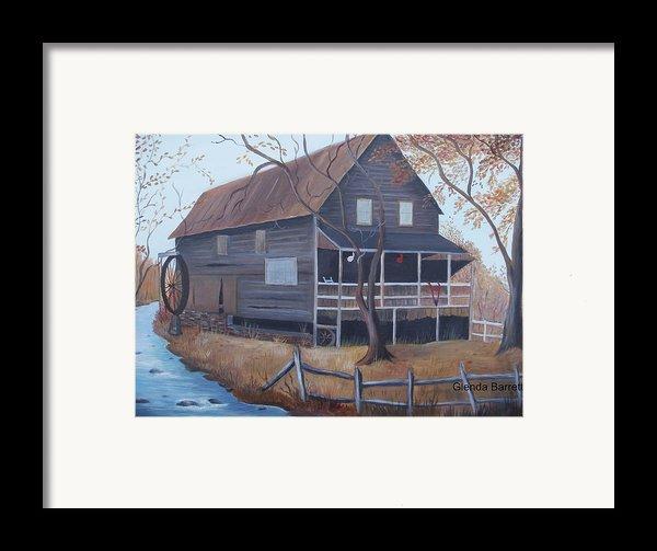 The Mill Framed Print By Glenda Barrett