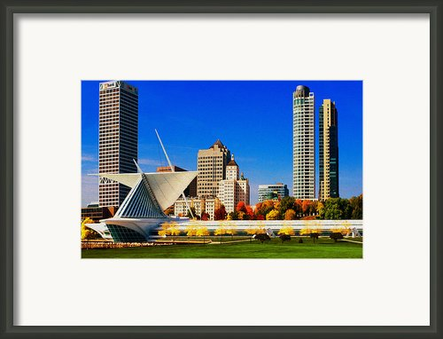 The Milwaukee Art Museum Framed Print By Jack Zulli
