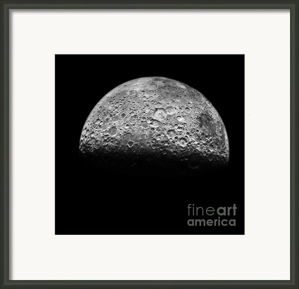 The Moon Framed Print By Nasa Science Source