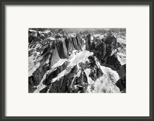 The Mooses Tooth Alaska Framed Print By Alasdair Turner