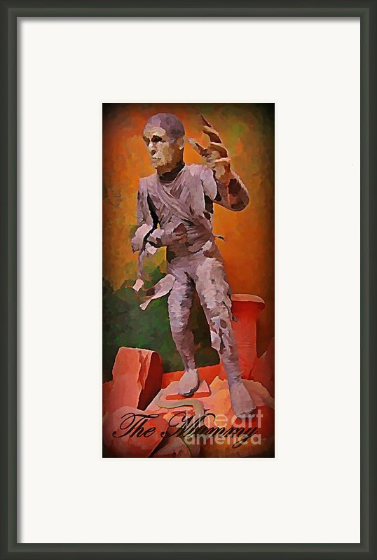 The Mummy Framed Print By John Malone
