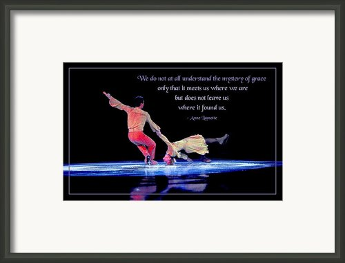 The Mystery Of Grace Framed Print By Mike Flynn