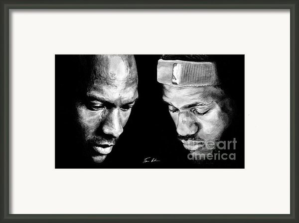 The Next One Framed Print By Tamir Barkan