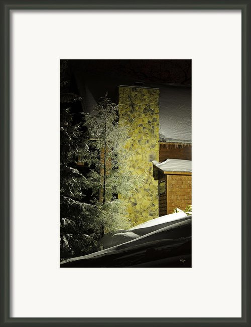 The Night Light Framed Print By Lois Bryan
