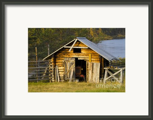 The Old Barn Framed Print By Heiko Koehrer-wagner