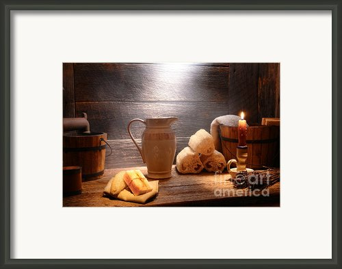 The Old Bathroom Framed Print By Olivier Le Queinec
