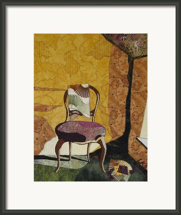 The Old Chair Framed Print By Lynda K Boardman